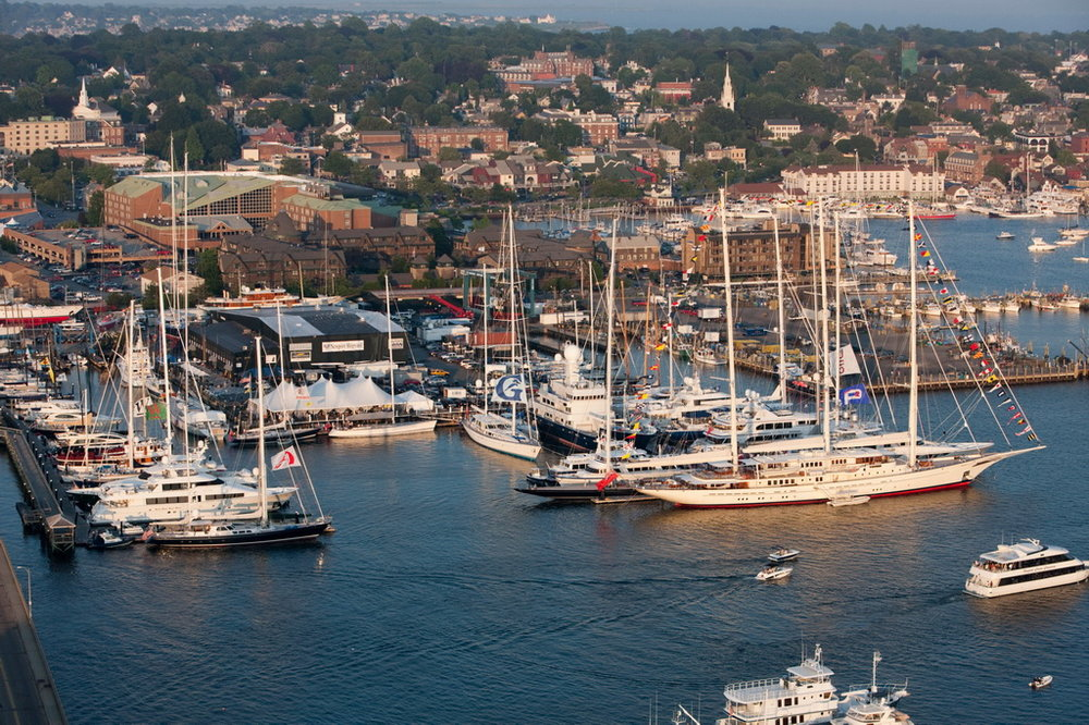 Newport Shipyard will be headquarters for the 2017 Candy Store Cup. (photo credit: Billy Black)   Click photo to download in high resolution