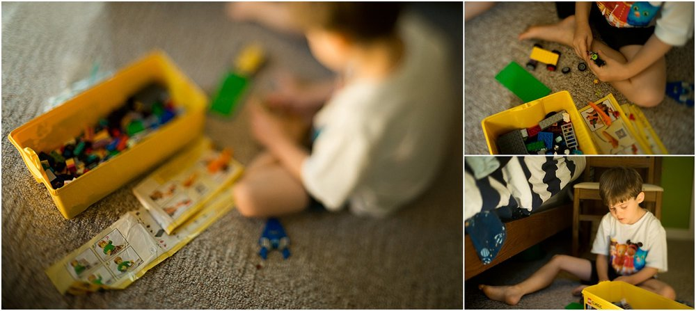 freelensed boy playing with legos