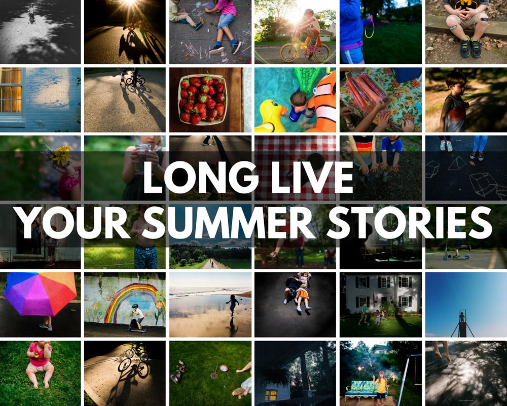 summer storytelling photography