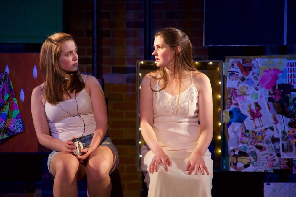 Astrid ( Sarah Chapin ) and Ingrid ( Caroline Rouse ).