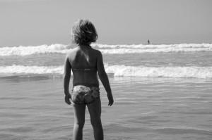 beach gazing