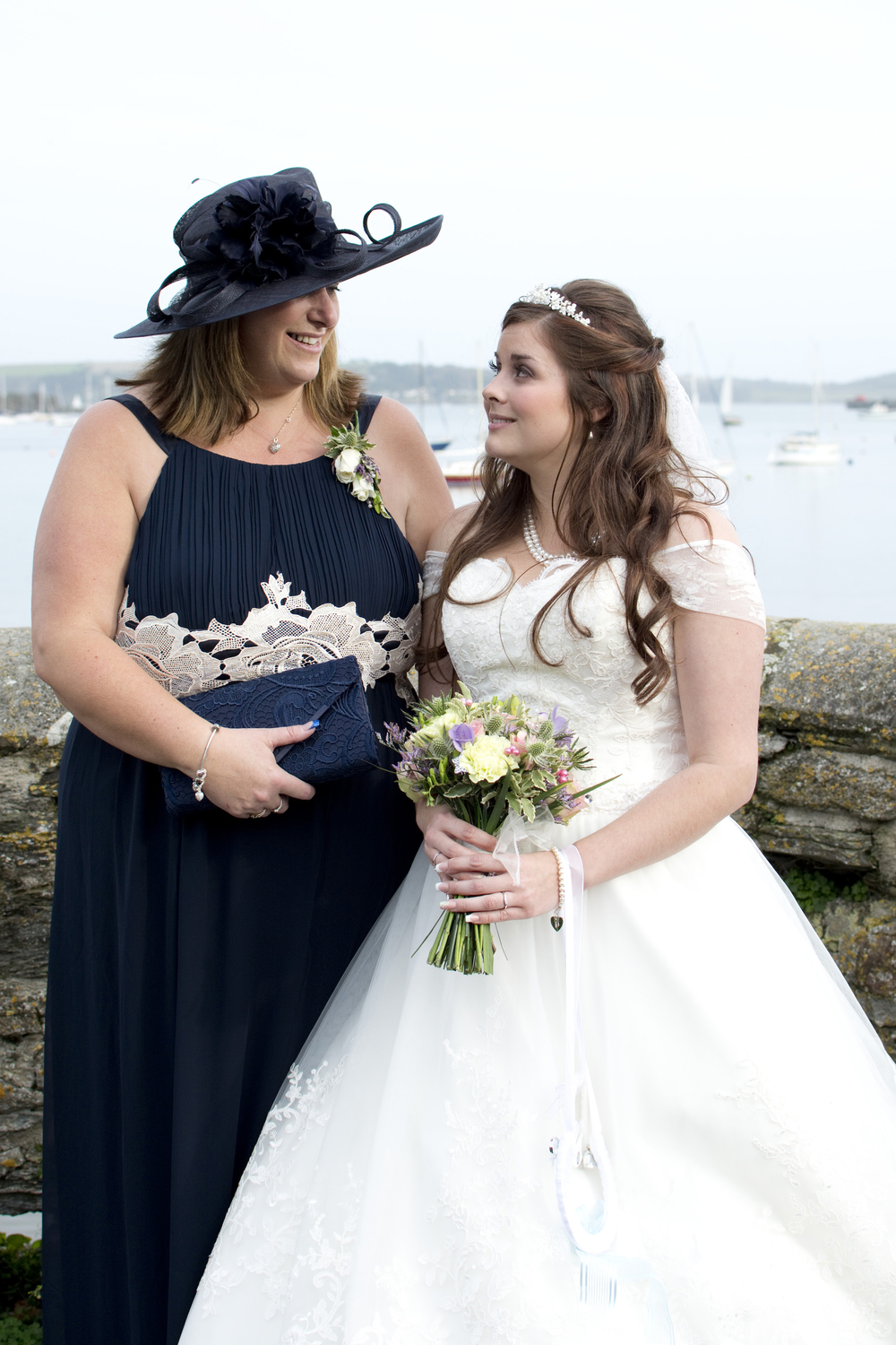 mother of the bride is so proud at The GreenBank Hotel Falmouth
