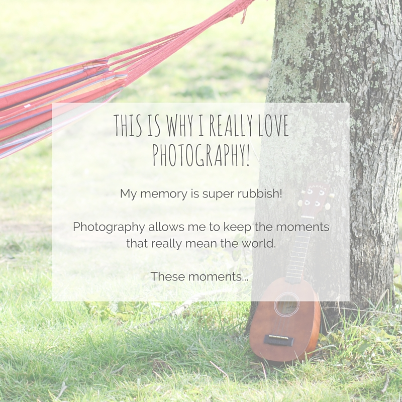 why I really love photography, ukulele, hammock, plymouth
