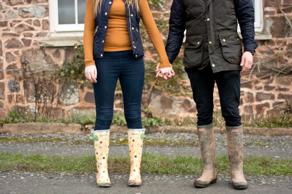 Style and wellies at fursdon house