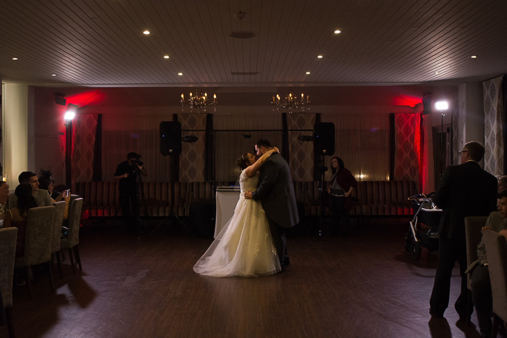 Carbis bay hotel wedding first dance