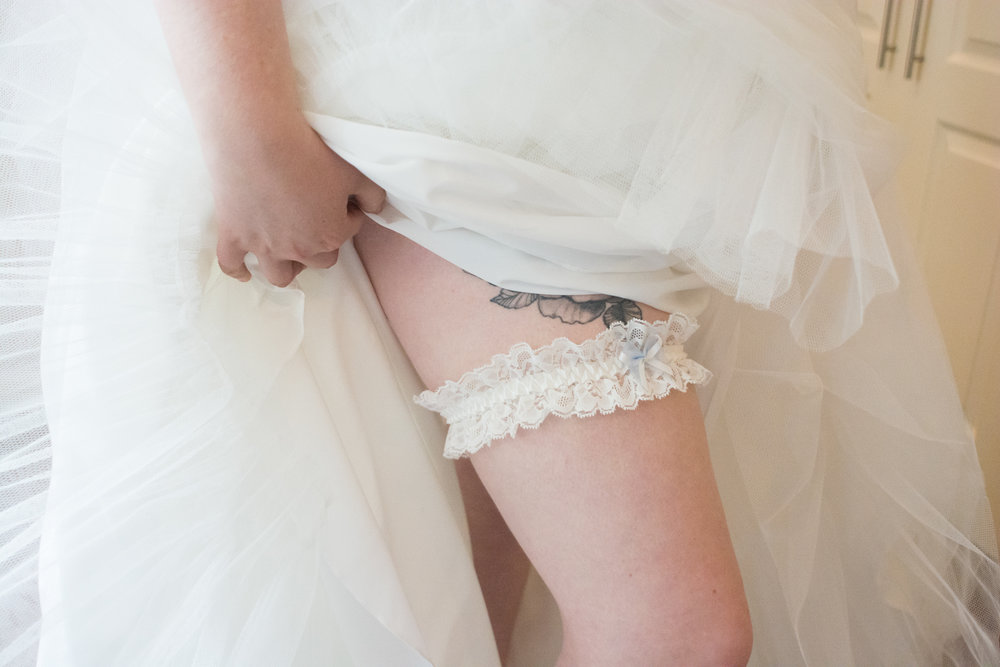 garter and tattoo at waterside cornwall