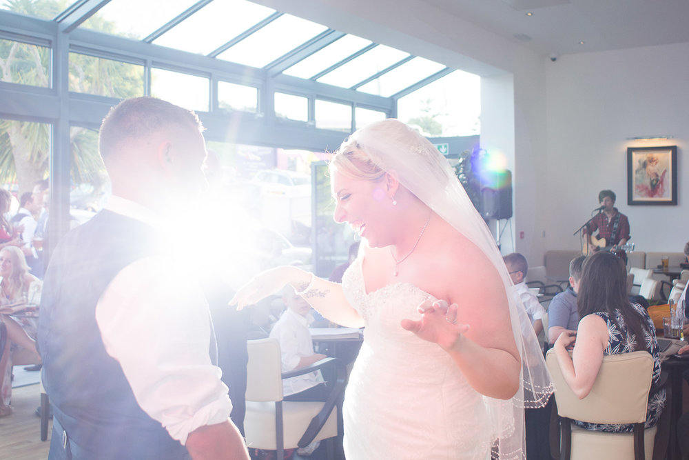 the first dance at the Headland Hotel Torquay