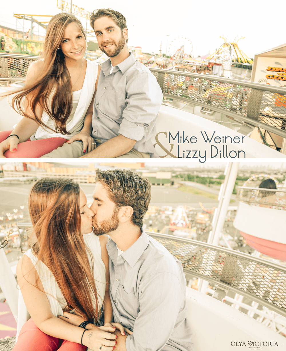 Engagement on a Farris Wheel