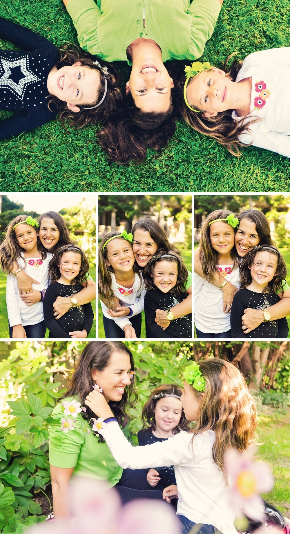 Mom and Daughters Photo Session in Montclair
