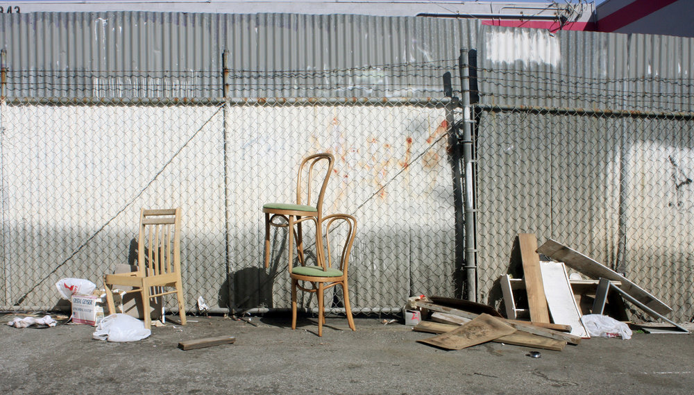Three Chairs, with Alexandros Vasmoulakis, 2010