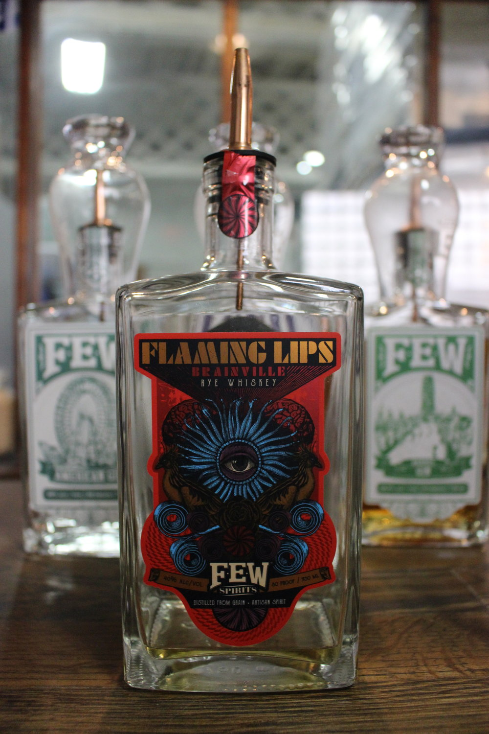 Flaming Lips Rye Whiskey