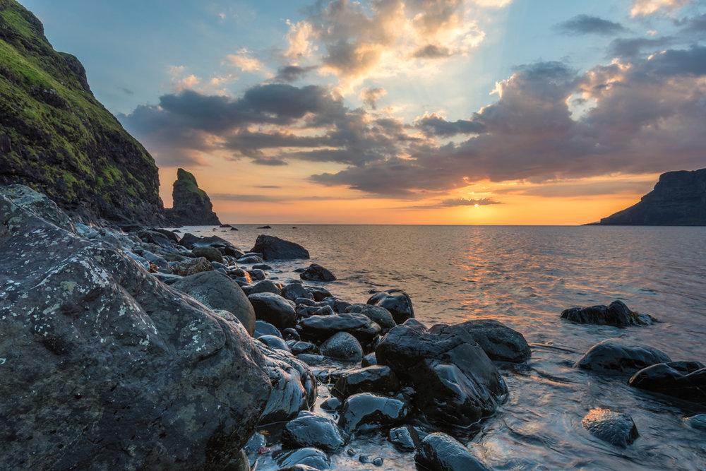 Talisker Bay sunset 2