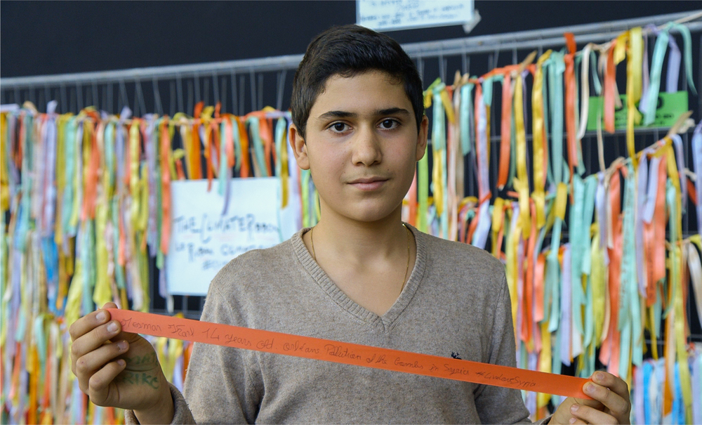 Carl, 14, Syria (currently living in Orleans, France)