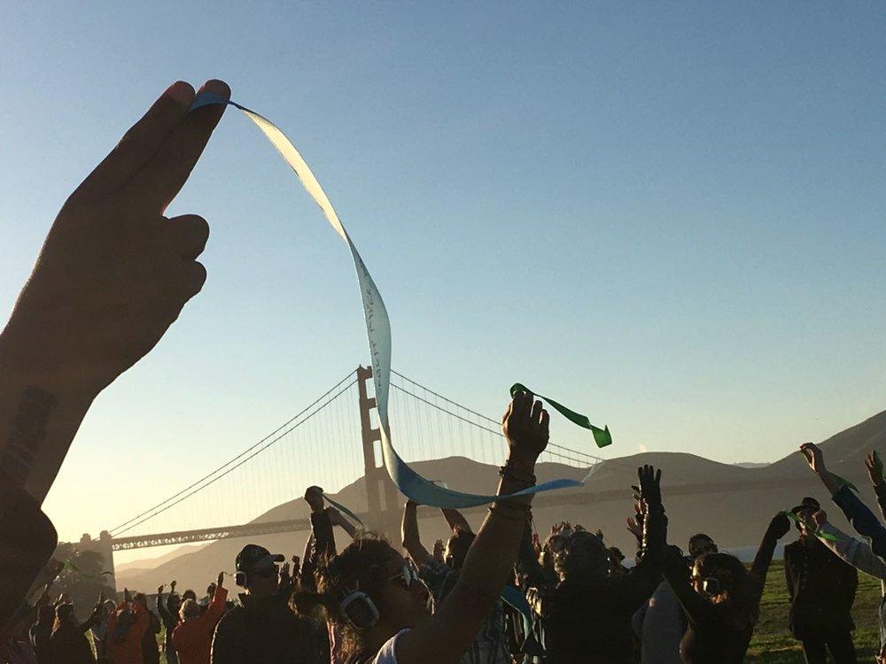 CR at PCM San Francisco.Photo9.Ribbons w- Golden Gate at sunset.jpg