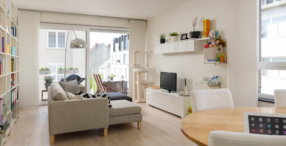 Vastgoedfotografie appartement, Antwerpen (België)