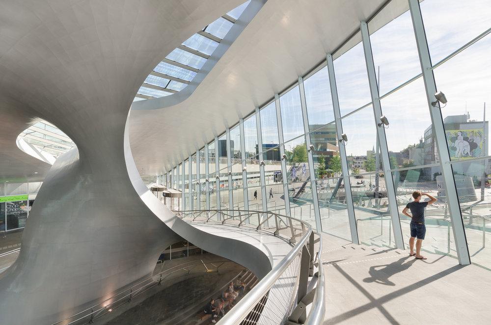 Architectuurfotografie, Arnhem Centraal Station