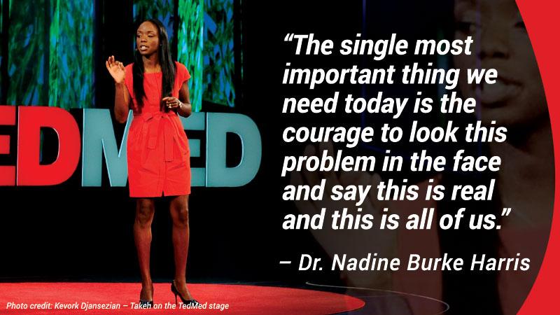 Nadine Delivers Memorable Quote