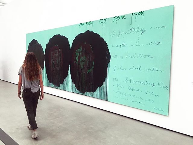 Cy Twombly. The Rose (V). #thebroad #california #headintheclouds #dtla