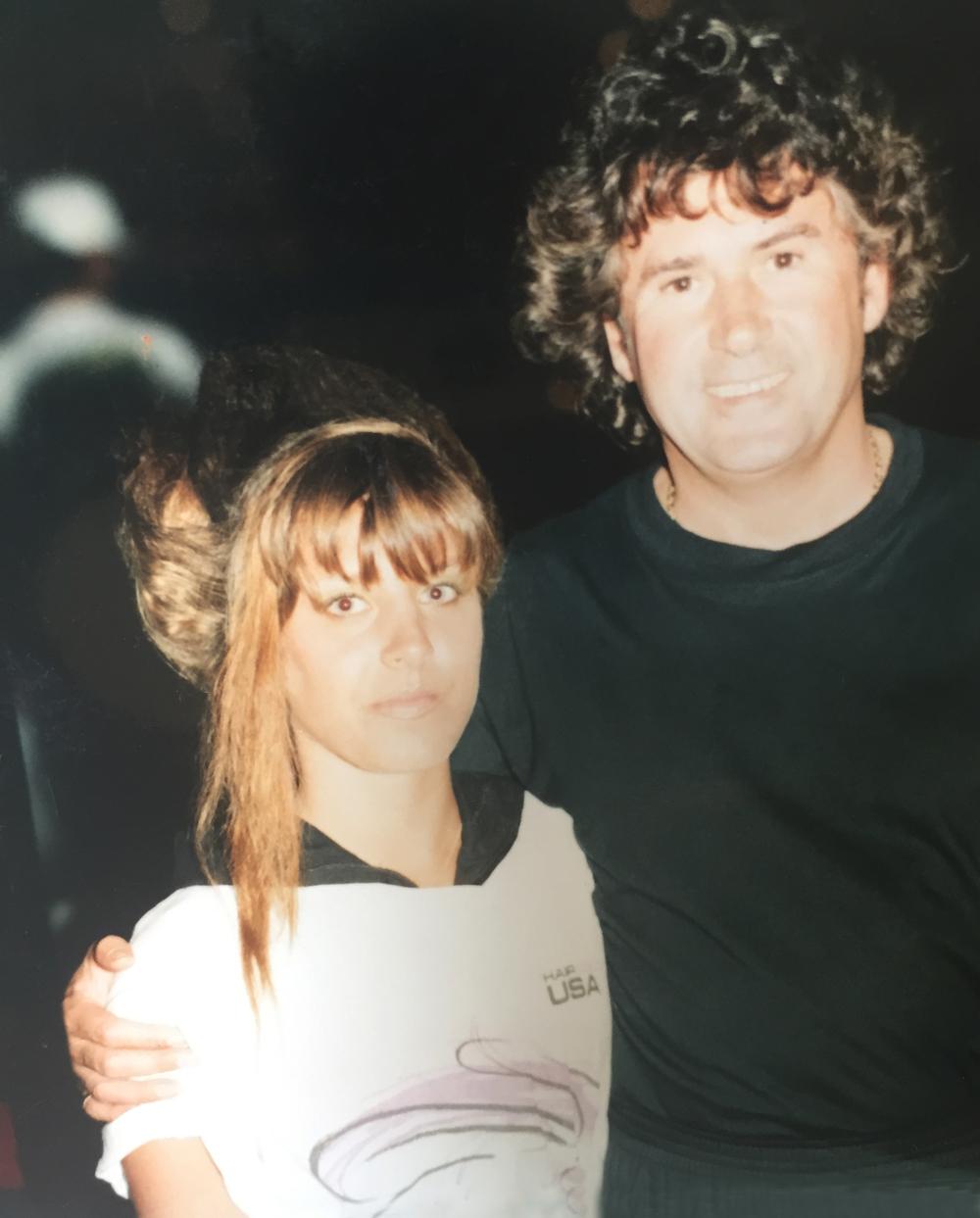 Mellissa & Daniel Galvin Miami 1991