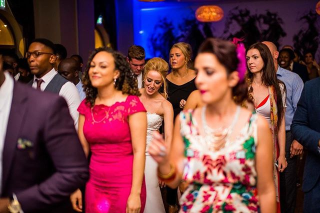 Looking forward to seeing more packed floors like this for 2017... - Photo credit @jamesaphotography.co.uk  #djlife #hybrdentertainment #weddings #venues #music #party #dancing #bride #groom #booth #lighting #throwbackthursday