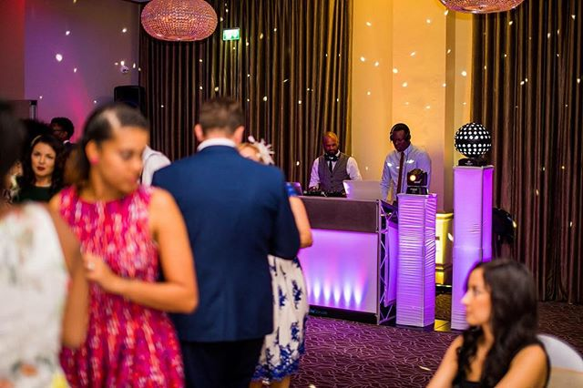 - Photo credit @jamesaphotography.co.uk #hybrdentertainment #weddings #venues #music #party #dancing #booth #lighting #traktordj #seratodj #throwbackthursday