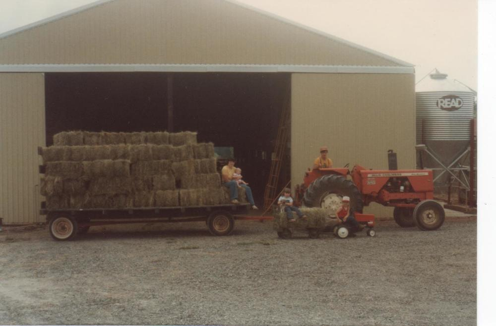 Our family has farmed, harvested and sold hay in Oregon for five generations.