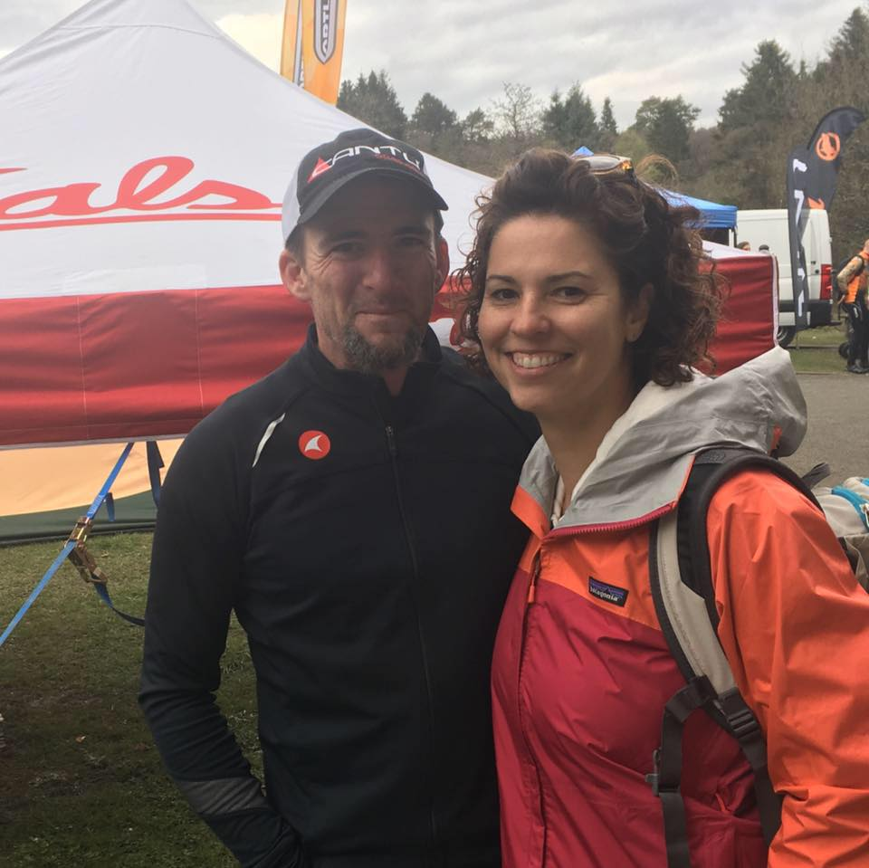 Bobby and his wife at the 2017  Dirty Reiver  gravel grinder in England.