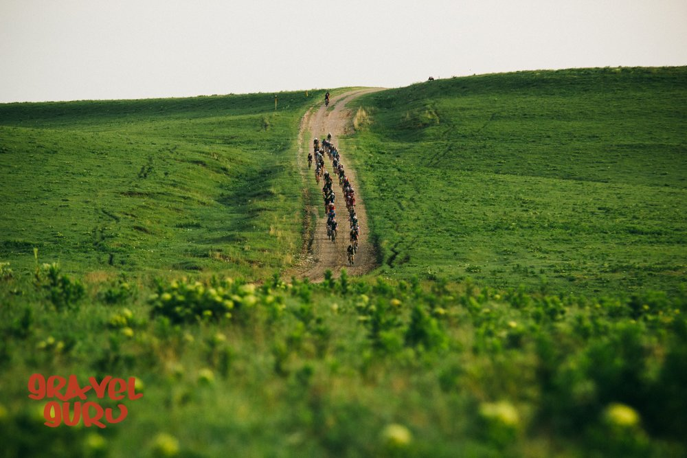 winding gravel through the flint hills. photo:  Matt fowler/gravel guru
