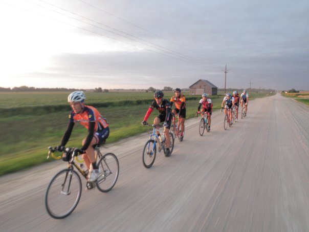 throwback to the 2009 Good life gravel adventure photo credit: Pirate cycling League