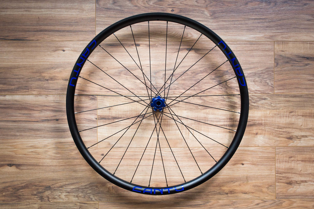 Blue Decal and Blue hub options available upon Custom order. White decals and Black Hub are standard.