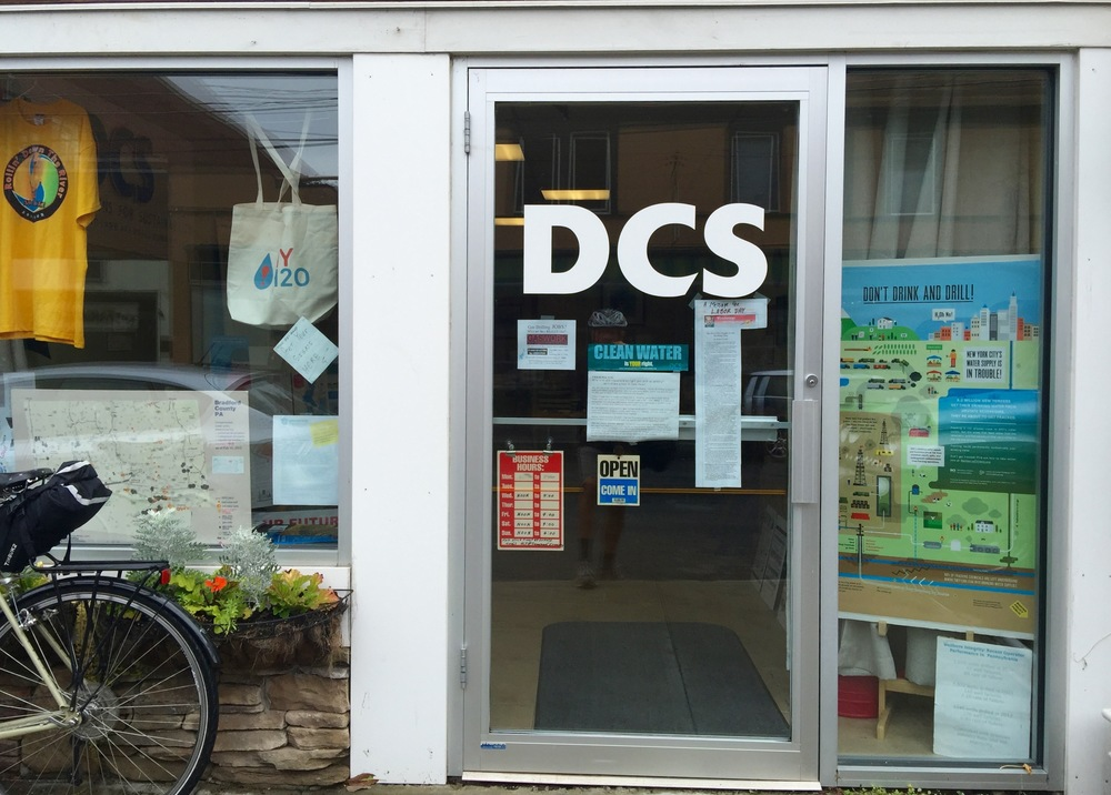 The DCS office in Narrowsburg, NY