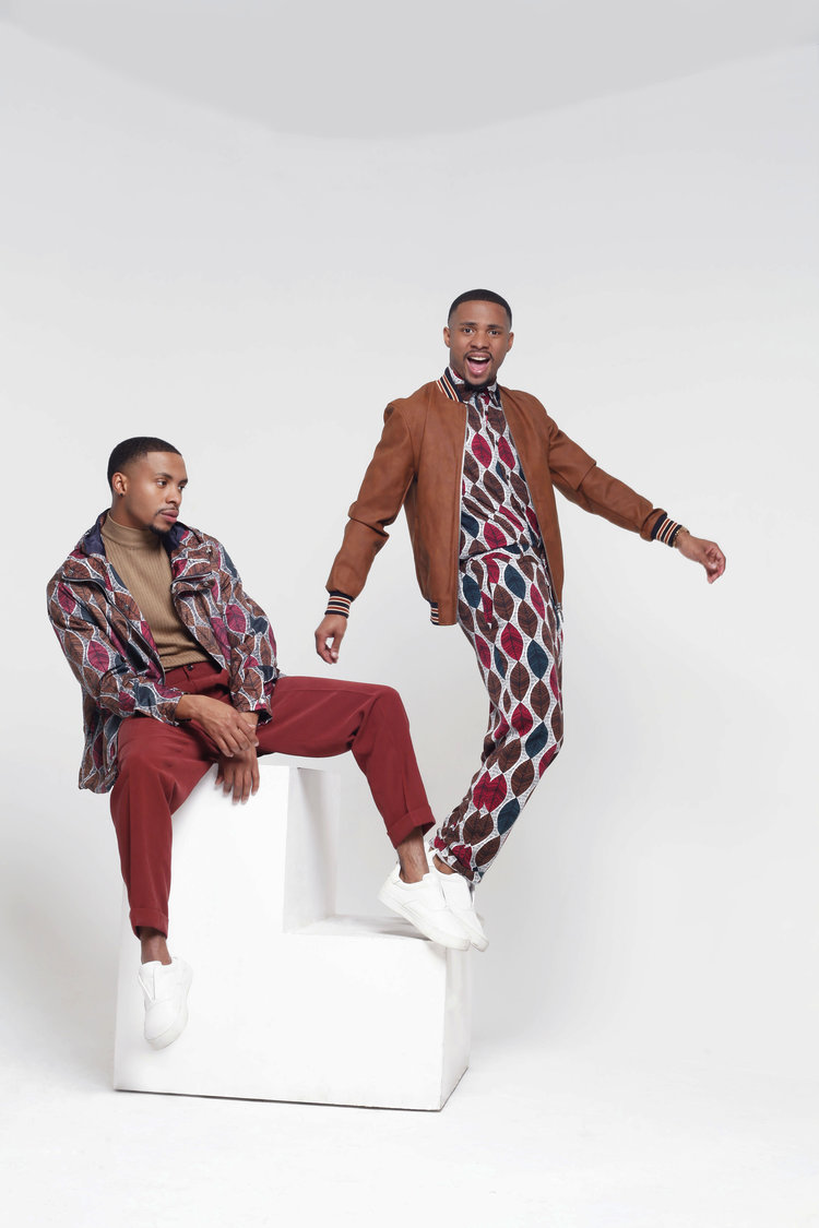 Fashion shoot with male models, The Harris Twins.jpg