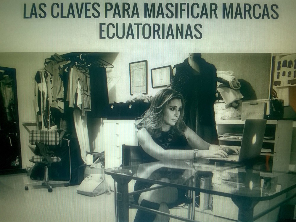 Adriana Cobo comparte su experiencia, como Diversificar una Marca en el Mercado Ecuatoriano. Para ver el reportaje completo click en la imagen.    Especial agradecimiento a Cristina Maag y a Frontrow.