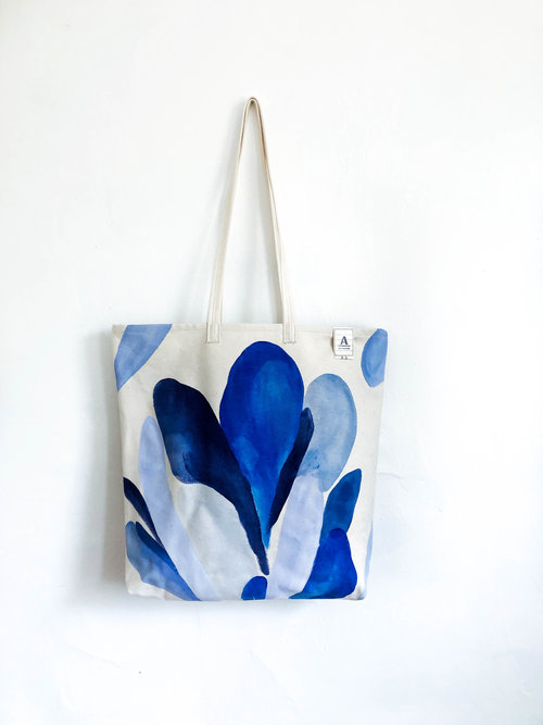 Ode to Blue - Small Bag  4 — Angie The Rose 9799016c4e528