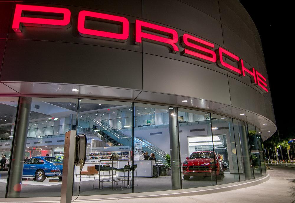 New Porsche Dealership Opening