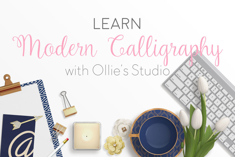 Modern Calligraphy Workshops in Cheltenham and Dublin