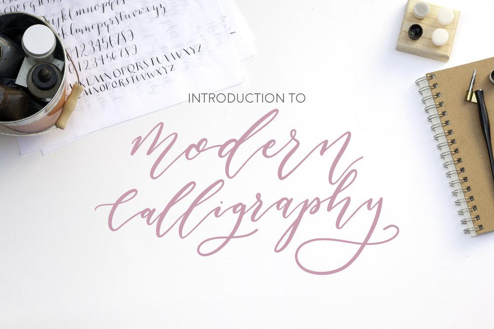 Modern calligraphy workshop gift vouchers