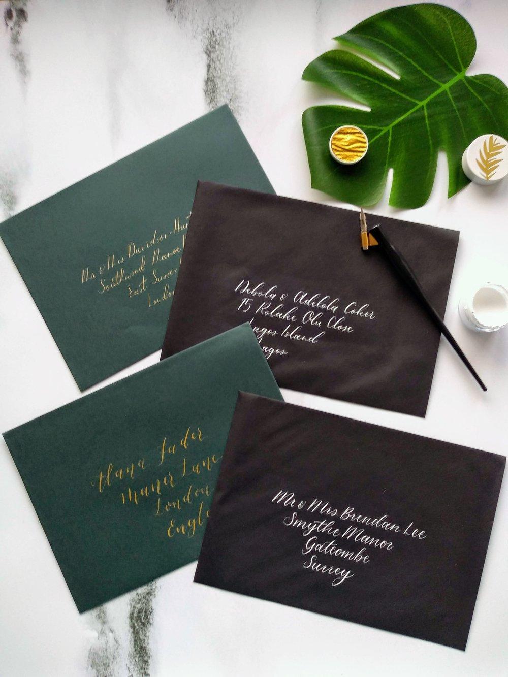 Calligraphy Styles -