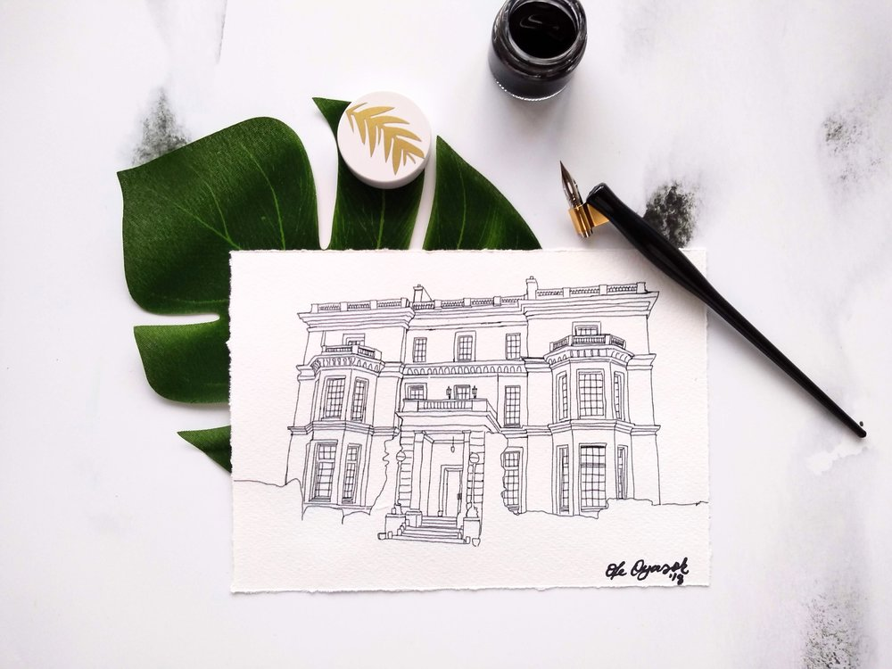 Venue illustrations - COMING SOON
