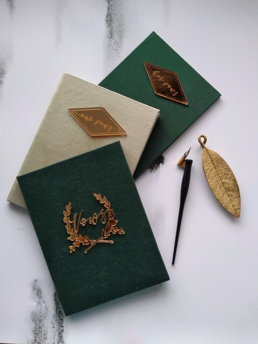 Silk and velvet Vow books