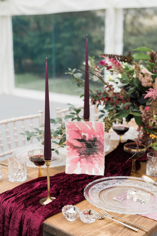 Wedding Menu by Studio Oudizo Cheltenham