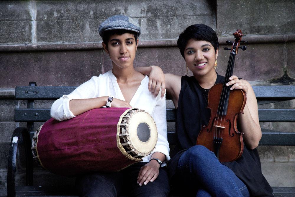 Rajna Swaminathan &Anjna Swaminathan