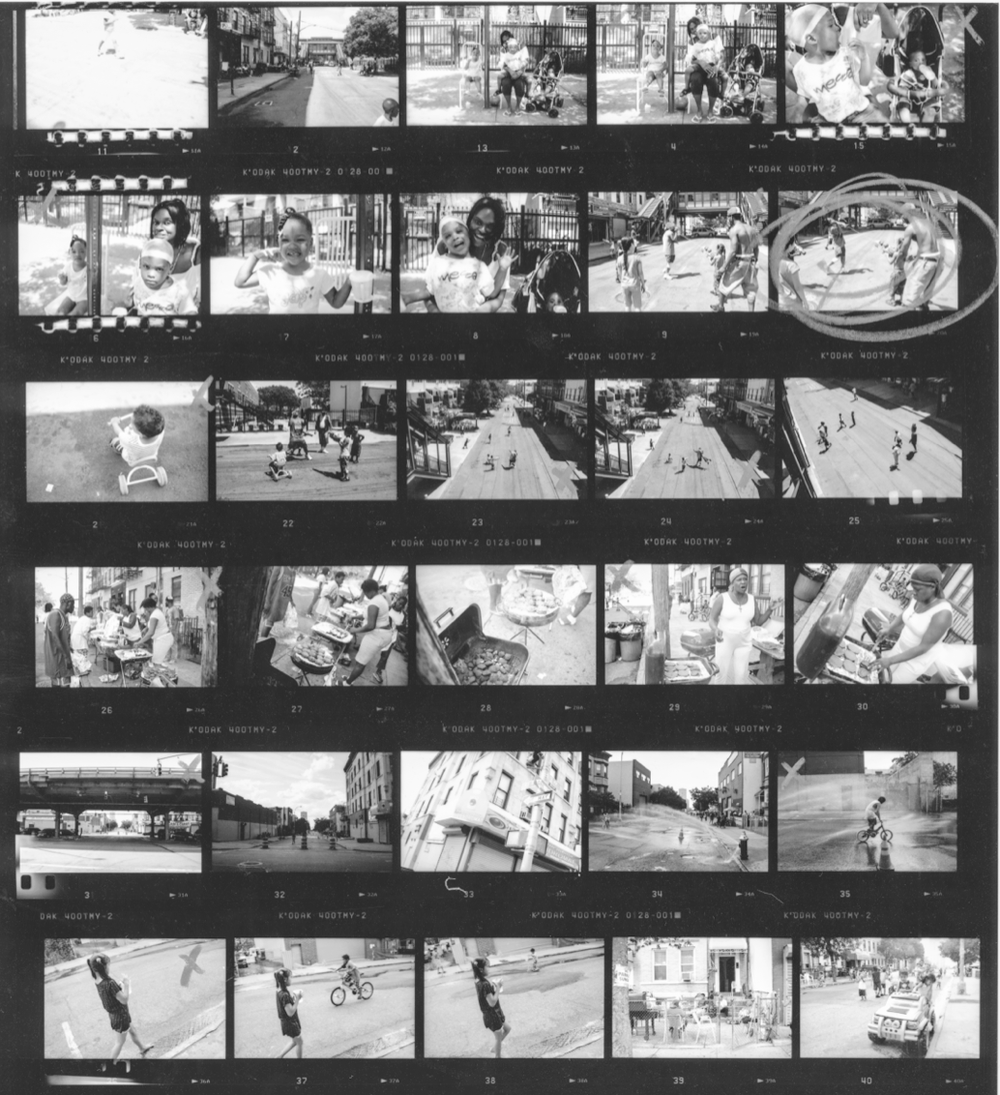 Blockparty contact sheet by Anderson Zaca