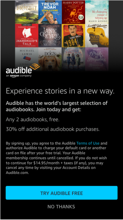 Audible on Alexa — Matt Olsen
