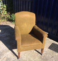 50s style armchair