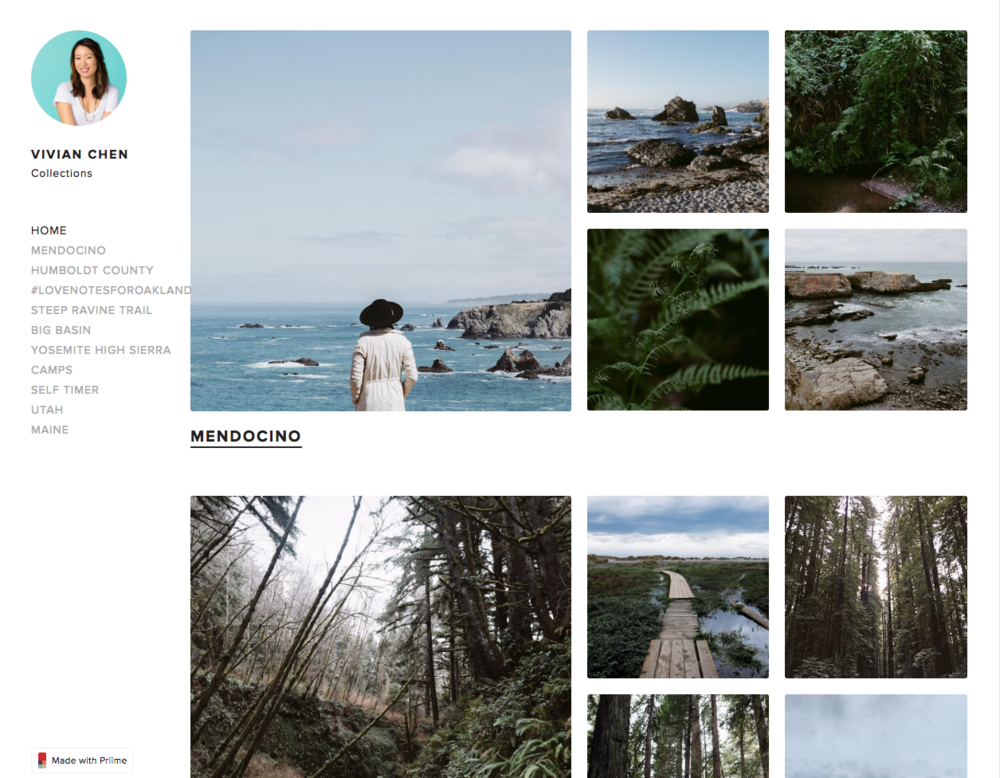 My Priime Collections home page!