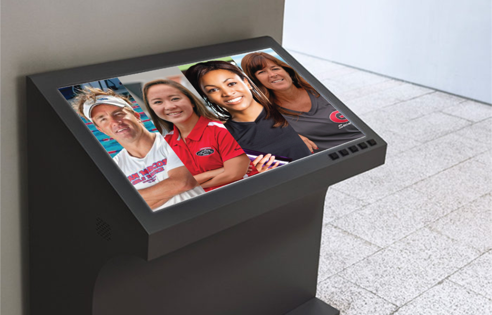 If you forget to do it at home you can pick a virtual trainer at the gym.