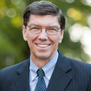 CLAYTON CHRISTENSEN Kim B. Clark Professor of Business Administration at the Harvard Business School. One of the world's top experts on innovation and growth.