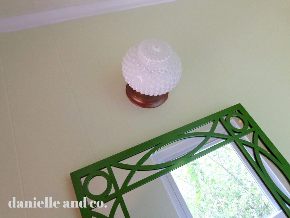 Updating an old light fixture, from danielleandco.com