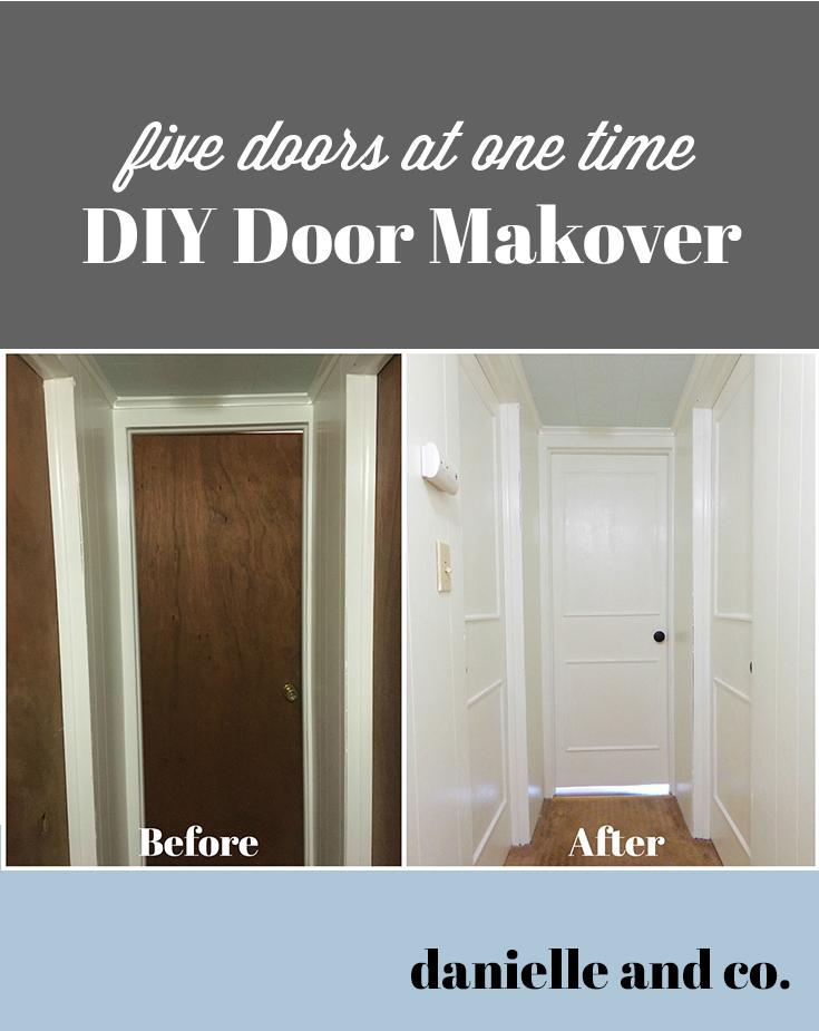 Diy Interior Door Makeover Five Doors At Once